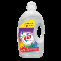 Tvättmedel Via Color Conc 4,32L