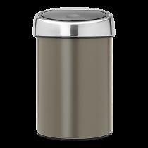 Avfallshink Touch Bin 3L platinum