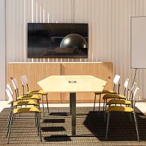 Konferensbord 560x120/80 cm 16-18 personer