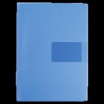 Aktmapp med visitkortsficka blå