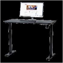 Sitt/ståbord Sun-Flex Easydesk Elite svart