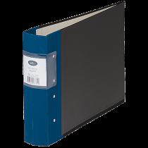 Gaffelpärm Actual A4L 60 mm blå
