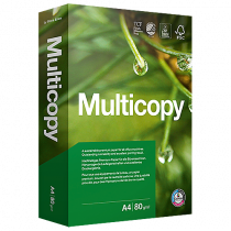 Kopieringspapper Multicopy A3 ohål 80 g 500/fp
