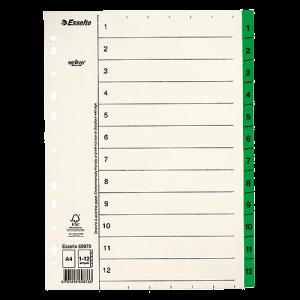 Register Servo Original 1-12 grön