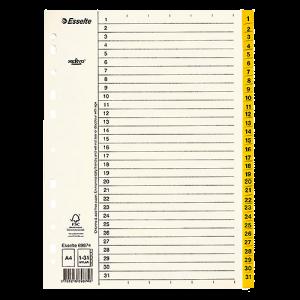 Register Servo Original 1-31 gul